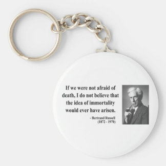 Bertrand Russell Quote 1b Key Ring