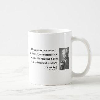 Bertrand Russell Quote 4b Coffee Mug