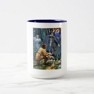 Bertuccio's Bride, Hughes Art Vintage Two-Tone Coffee Mug