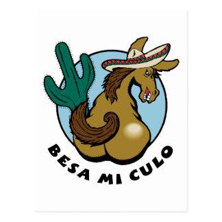 Besa Mi Culo Postcard