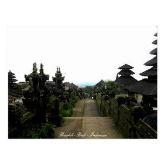 Besakih - Bali - Indonesia Postcard