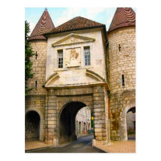 Besançon ,Old city Gateway Postcard