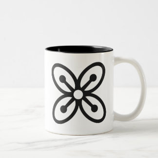 BESE SAKA | Symbol of Affluence, Power, Abundance Two-Tone Coffee Mug