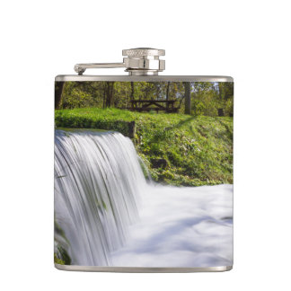 Beside Hodgson Spring Falls Hip Flask