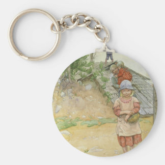 Beside  the Cellar Basic Round Button Key Ring