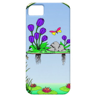 Beside the lilypond iPhone 5 case
