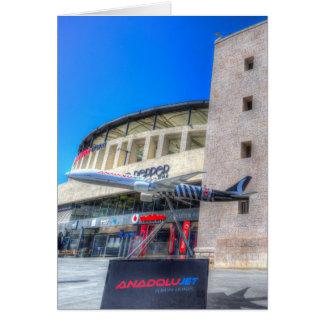 Besiktas JK Stadium Istanbul Card