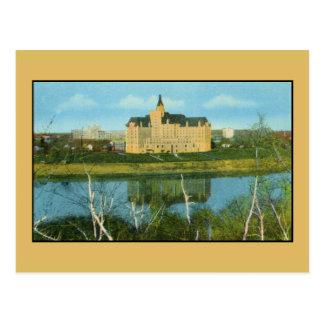 Bessborough Hotel, Saskatoon, Saskatchewan Postcard
