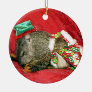 Bessie and Bluster Ornament