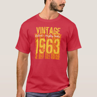 Best 1963 Vintage Tee Fall Colors 50th Birthday