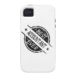 Best Accountant Ever Black Vibe iPhone 4 Covers