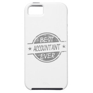 Best Accountant Ever Gray iPhone 5/5S Cases