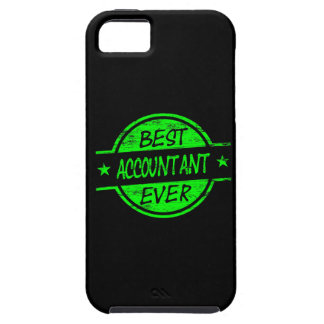 Best Accountant Ever Green iPhone 5 Cases