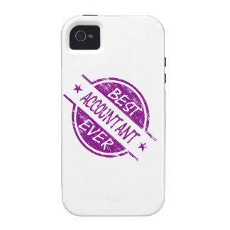 Best Accountant Ever Purple iPhone 4 Cases