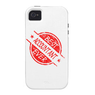 Best Accountant Ever Red iPhone 4 Cases