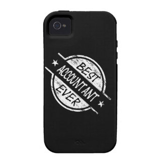 Best Accountant Ever White iPhone 4/4S Case