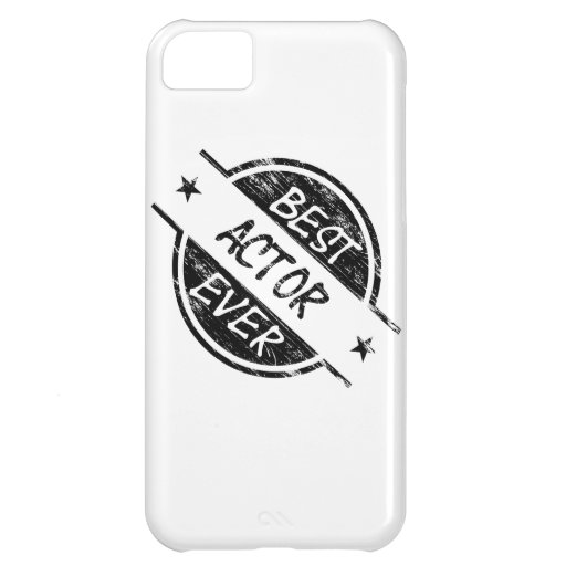 Best Actor Ever Black.png iPhone 5C Covers
