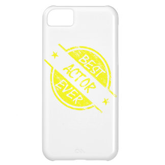 Best Actor Ever Yellow iPhone 5C Cases