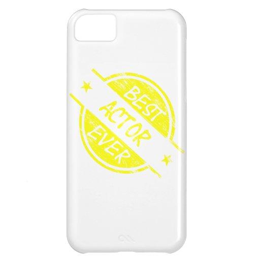 Best Actor Ever Yellow iPhone 5C Cases