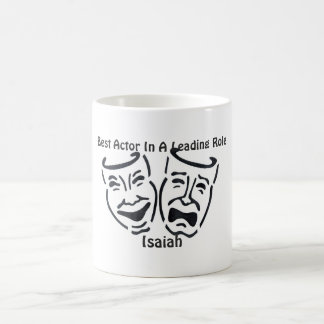 Best Actor/Leading Role: Isaiah Coffee Mug