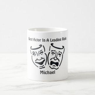 Best Actor/Leading Role: Michael Basic White Mug