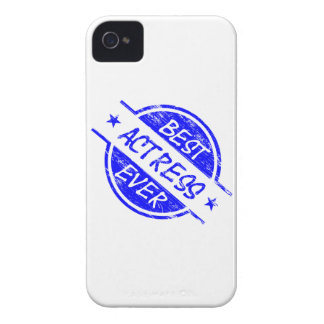 Best Actress Ever Blue.png iPhone 4 Case-Mate Cases