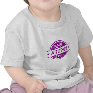Best Actress Ever Purple.png T Shirt