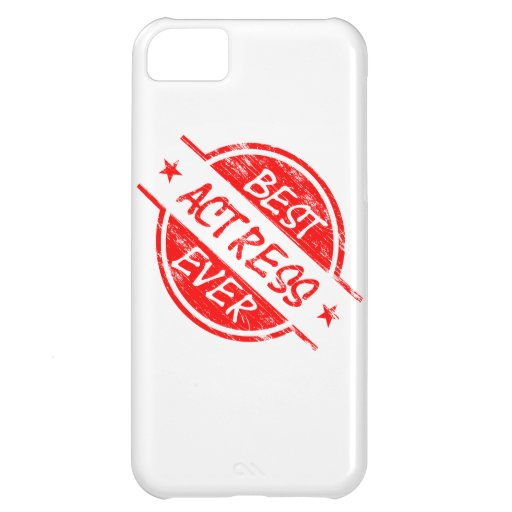Best Actress Ever Red.png iPhone 5C Case
