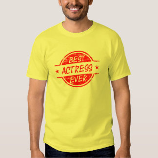 Best Actress Ever Red.png Tees