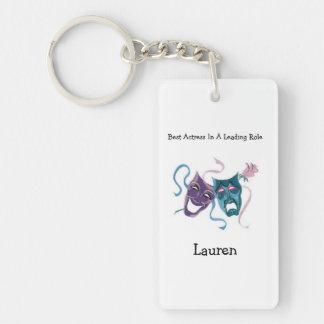 Best Actress/Lead Role: Lauren Single-Sided Rectangular Acrylic Key Ring
