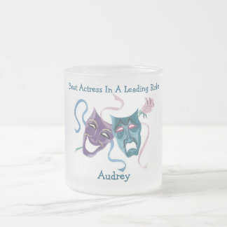 Best Actress/Leading Role: Audrey Frosted Glass Mug