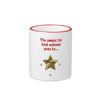 Best Actress-Nancy Coffee Mugs