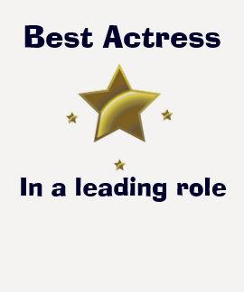 Best Actress Tee Shirts