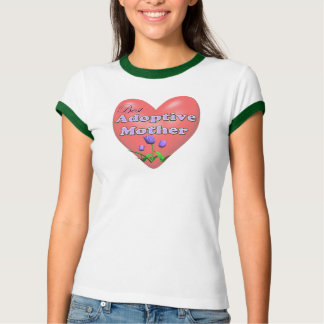 Best Adoptive Mother Mothers Day Gifts Shirt