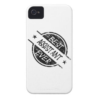 Best Assistant Ever Black iPhone 4 Cases