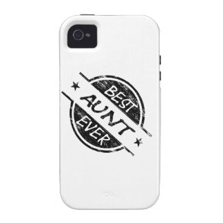 Best Aunt Ever Black Case-Mate iPhone 4 Covers
