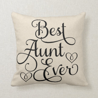 Best Aunt Ever Cushion