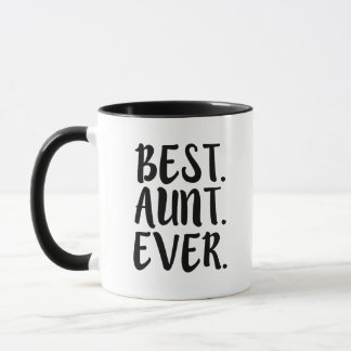Best Aunt Ever Funny Coffee Mug