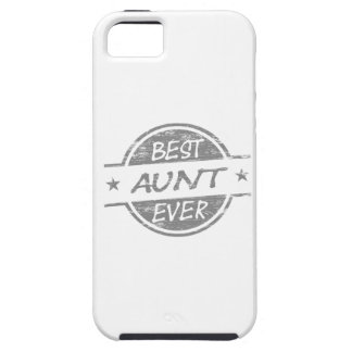 Best Aunt Ever Gray iPhone 5 Cover