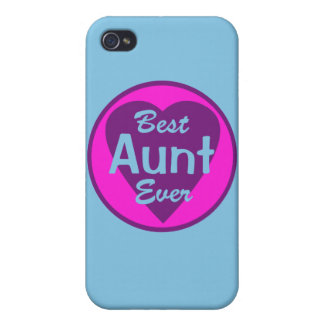 Best Aunt Ever Personalized iPhone 4/4S Covers