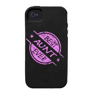 Best Aunt Ever Pink Case-Mate iPhone 4 Covers