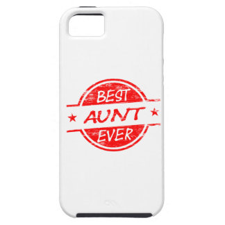 Best Aunt Ever Red iPhone 5 Covers