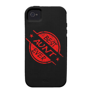 Best Aunt Ever Red Case-Mate iPhone 4 Case