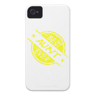 Best Aunt Ever Yellow Case-Mate iPhone 4 Cases