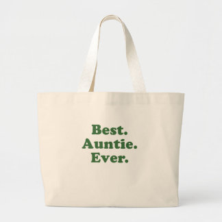 Best Auntie Ever Jumbo Tote Bag