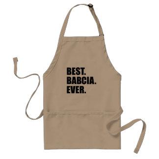 Best Babcia Ever Standard Apron