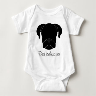 Best Babysitter Baby Bodysuit
