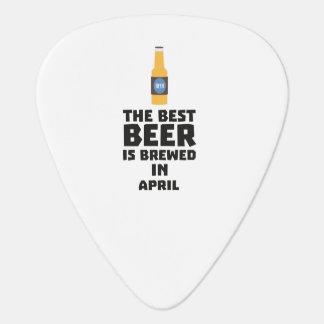 Best Beer is brewed in April Z86r8 Guitar Pick