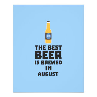 Best Beer is brewed in August Zw06j 11.5 Cm X 14 Cm Flyer