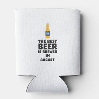Best Beer is brewed in August Zw06j Can Cooler